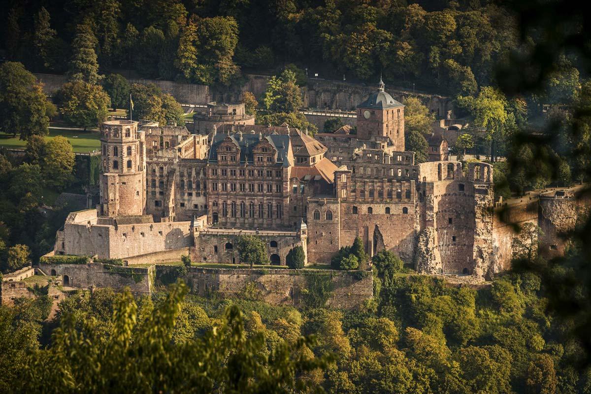 Heidelberger Schloss | Foto von Tobias Schwerdt