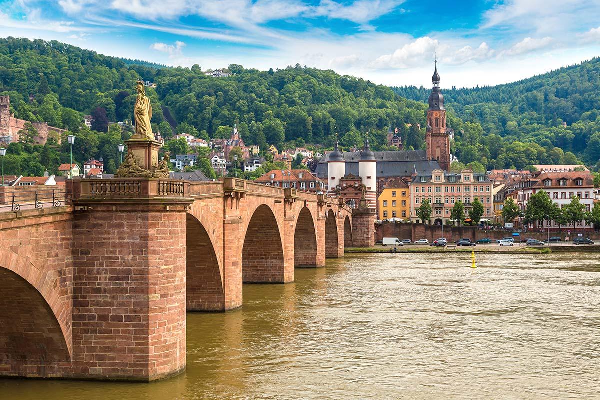 Brücke in Heidelberg