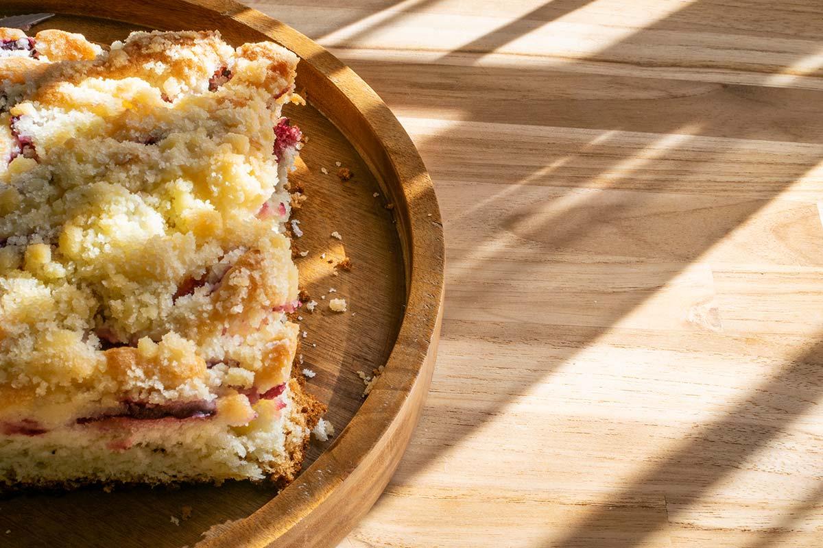 Zwetschgenkuchen mit Zimstreuseln