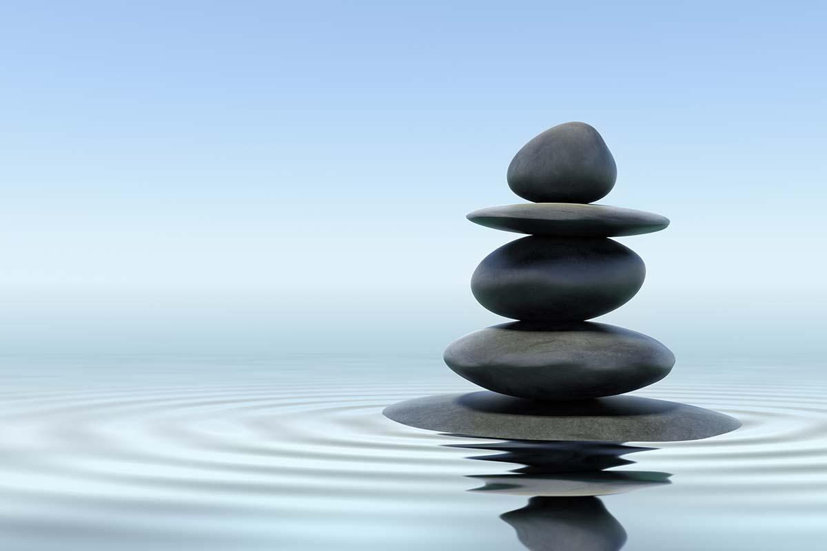 Zen Steine - Heilwasser